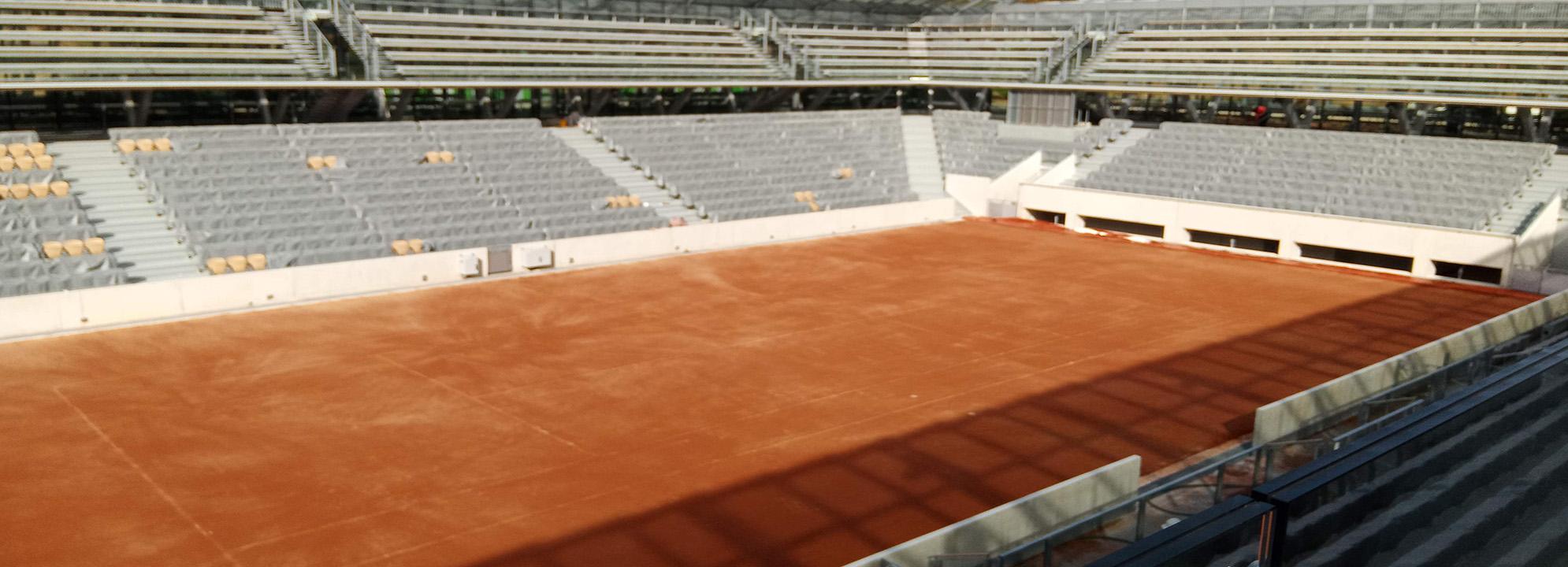 Cours des Serres Roland Garros