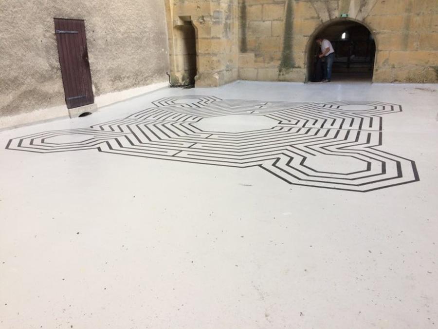 Labyrinthe de Reims terminé
