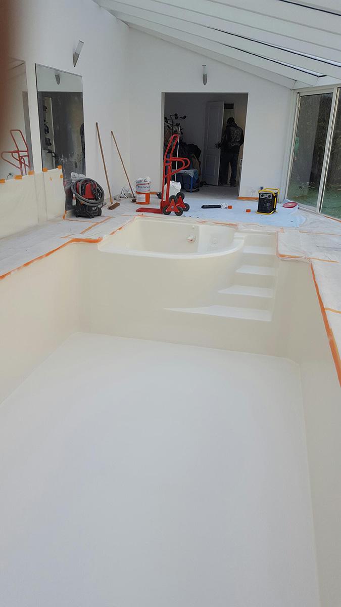 Stratifié polyester à la place d'un liner